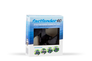 Fastfender 40 Black - packing unit for boat fender hangers