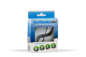 Fastfender Sail White - packing unit for boat fender hangers